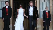 Una boda, dos vestidos de novia y mucha complicidad: así fue el día más esperado por Harry y Meghan