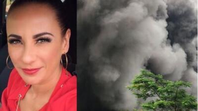 Consuelo Duval se solidariza con Guatemala por volcán de Fuego