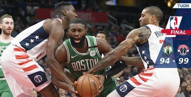 Los Wizards se aprovechan de unos diezmados Celtics y los vencen