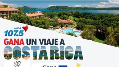 Gana unas vacaciones a Costa Rica