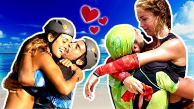 Cupido llegó a Reto 4 elementos: estos participantes se enamoraron durante la competencia