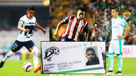 Néstor Calderón, de multicampeón en futbol mexicano a jugador del 'Caguamos FC'