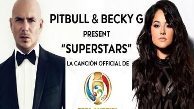 Esta es la canción de Pitbull  y Becky G que encenderá la Copa América Centenario