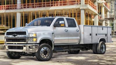 Chevrolet destapa oficialmente las nuevas Silverado 4500, 5500 y 6500