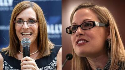 Por primera vez dos mujeres se enfrentarán para representar Arizona en el Senado