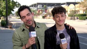 Omar Chaparro habla de cómo le fue con el coronavirus y de su nuevo reality show filmado junto a su hijo Emiliano