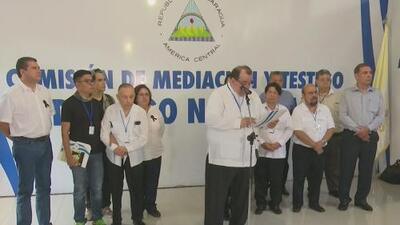 Gobierno de Daniel Ortega propone reanudar los diálogos para llegar a una solución a la crisis de Nicaragua