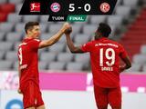 Bayern Munich golea a Fortuna Düsseldorf en la Jornada 29
