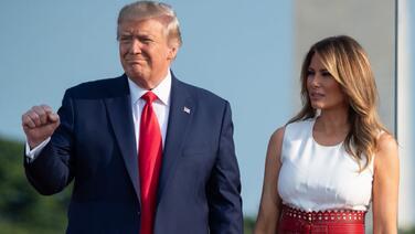 Melania Trump se va con un índice de aprobación de 42%, el peor de su período como primera dama