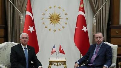 Pence anuncia un cese temporal de la ofensiva de Turquía en Siria que la Casa Blanca permitió con su sorpresivo retiro de la zona