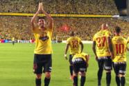 Kaká marcó dos goles con el Barcelona en la 'noche amarilla' ante el Sport Boys de Perú
