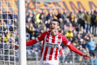 En fotos: Chucky Lozano, la figura del PSV Eindhoven en el triunfo contra VVV-Venlo en Eredivisie