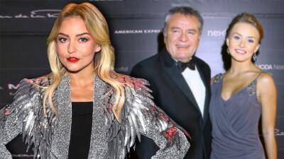 Angelique Boyer admite que su relación con 'El Güero' Castro fue una de las razones por las que se fue de casa
