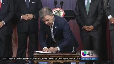 Colombianos en EEUU quieren participar en referéndum del proceso de paz con las FARC
