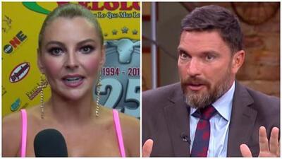 """No va tener pasaporte ni padre"": Julián Gil le responde a Marjorie de Sousa sobre la situación legal de Matías"