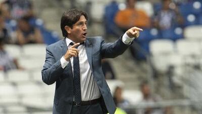 Bruno Marioni se queja del arbitraje en la derrota de Venados ante Monterrey