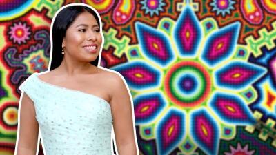 Revelan un tierno secreto (muy mexicano) del vestidos que usó Yalitza Aparicio la noche del Oscar