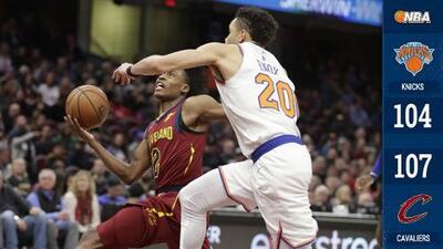 Los Cavaliers salieron 'menos malos' que los Knicks