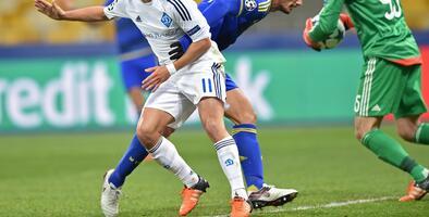 Dynamo Kiev 1-0 Maccabi de Tel Aviv: El Kiev avanza en Champions 17 años después
