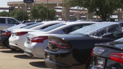 Fuerte granizada causa graves daños en al menos 25 mil vehículos en Texas