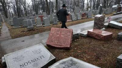Cementerios profanados y esvásticas en la escuela: así es el brote antisemita que sufre EEUU