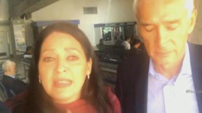"""""""Fueron horas muy angustiosas"""": el relato de la productora del equipo de Univision Noticias que expulsó Maduro de Venezuela"""