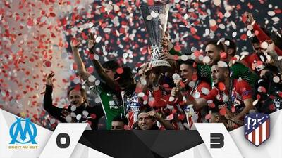 Griezmann coronó al Atlético en Lyon… ¿en su despedida?