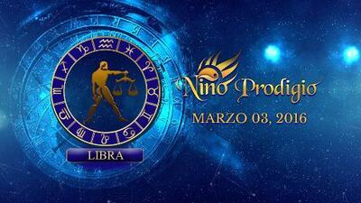 Niño Prodigio - Libra 3 de marzo, 2016