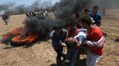 Al menos 59 palestinos muertos por fuego israelí durante las protestas por la nueva embajada de EEUU en Jerusalén