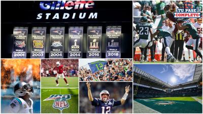 Las imágenes de impacto en la semana 1 de la NFL