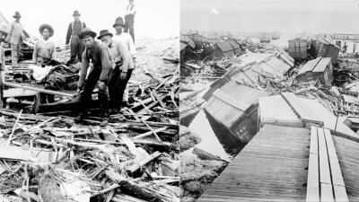 En fotos: Los 10 huracanes más devastadores de la historia en EEUU