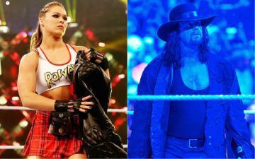 Ronda Rousey y Undertaker: íconos del Wrestlemania de WWE en 2018