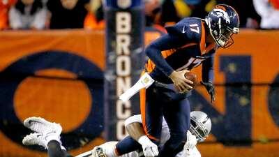 Brock Osweiler será titular de los Broncos una semana más