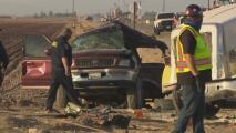 Revelan los nombres de los 12 sobrevivientes del accidente en el condado Imperial, cerca de la frontera con México