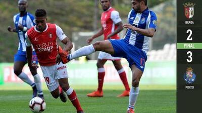 ¿Y la lesión? Con 'Tecatito' Corona y Herrera titulares, Porto venció al Braga