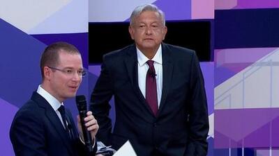 Mentiroso, farsante y corrupto: los momentos más tensos de la batalla entre López Obrador y Anaya