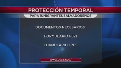 Protección temporal para inmigrantes salvadoreños