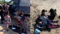 """""""Estaban llorando, sucias y habrían muerto"""": granjeros de la frontera narran cómo encontraron a las cinco niñas abandonadas por coyotes"""