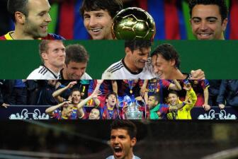 Los momentos del fútbol de Europa en 2011
