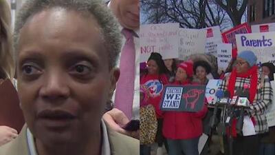 """""""Nada de eso es cierto"""": Lori Lightfoot responde al Sindicato de Maestros de Chicago sobre las negociaciones laborales"""