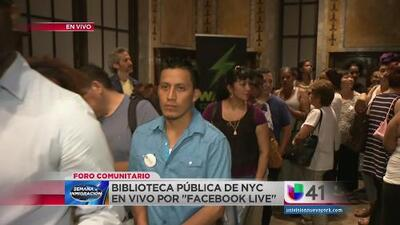 Foro comunitario de Univision 41 es un todo un éxito