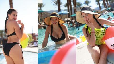 📸 Carla en bikini es la mejor forma de cerrar el verano: 10 fotos que te robarán el aliento
