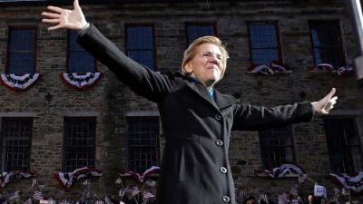La senadora Elizabeth Warren lanza su campaña para ser la candidata demócrata en las presidenciales de 2020