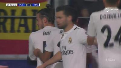 ¡GOOOL! Casemiro anota para Real Madrid