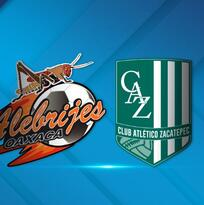 Alebrijes y Zacatepec disputan la final de Ascenso MX