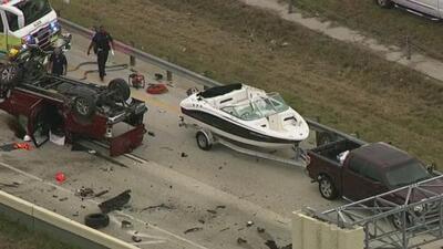 Accidente en la autopista 99 de Houston fue ocasionado por un conductor que se salió de la vía