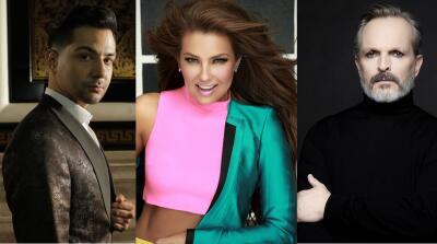 Thalía, Miguel Bosé y Luis Coronel estarán en Latin GRAMMY: conoce a los 30 presentadores