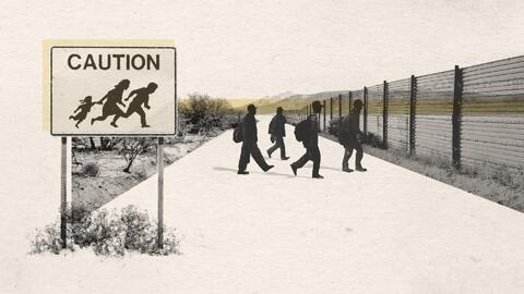 Animation: How a coyote smuggles hundreds of immigrants