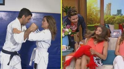 #DAEnUnMinuto: Francisca es débil de corazón y Karla resultó buena para los golpes