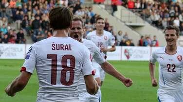 Letonia 1-2 República Checa: Los checos se clasifican a la Euro 2016